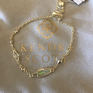 Kendra Scott Deb Adjustable Chain Bracelet Gold
